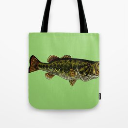 Largemouth Bass Tote Bag