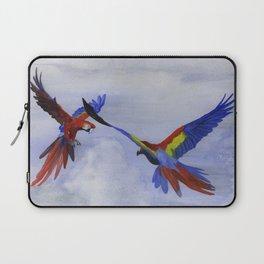 Parrots of Dolores Park Laptop Sleeve