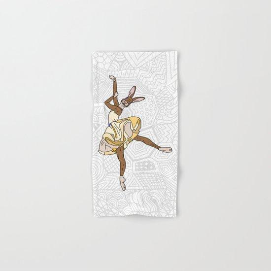 Bunny Rabbit Ballerina Tutu Hand & Bath Towel