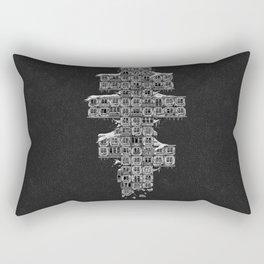ghost house Rectangular Pillow