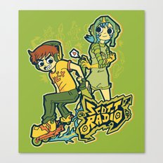 Scott Radio!!! Canvas Print