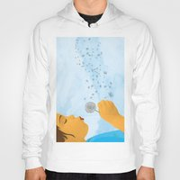 coconut wishes Hoodies featuring Wishes by Lacey Jae