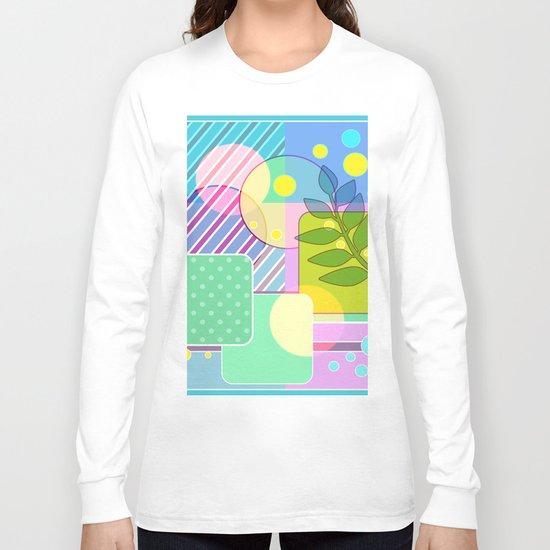 An abstract painting .   Good morning! Long Sleeve T-shirt