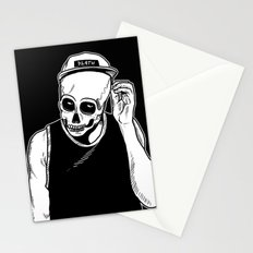 dead cozy boy Stationery Cards
