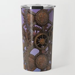 Steampunk Gears Travel Mug