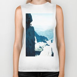 Almost there #Mountain #1 #art #society6 Biker Tank