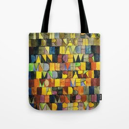 Paul Klee Once Emerged from the Gray of Night Tote Bag