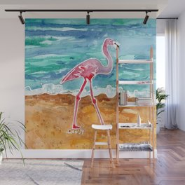 Flamingo Wall Mural