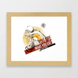 Sakky Snacks Framed Art Print