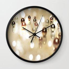 Glitter Wall Clock