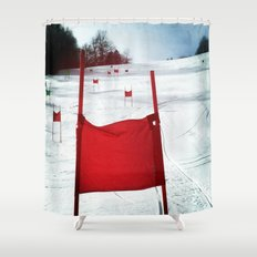 Racing Gates Shower Curtain
