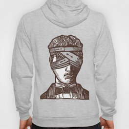 Wrapped Head (transparent) Hoody