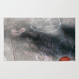 It's Just Words - #OWS Rug