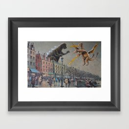 Round One! Framed Art Print
