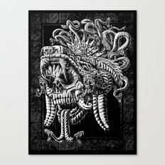 Serpent Warrior Canvas Print