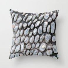 Stones texture #1 #decor #art #society6 Throw Pillow