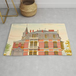 Brick constructions; ordinary brick from a decorative point of view - J. Lacroux and C. Détain - 187 Rug