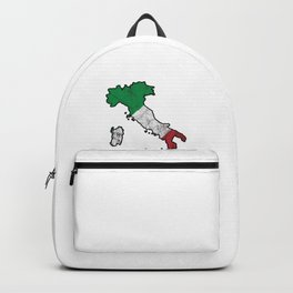 Patriotic Italy Flag Patriot Italian Nationalism Backpack