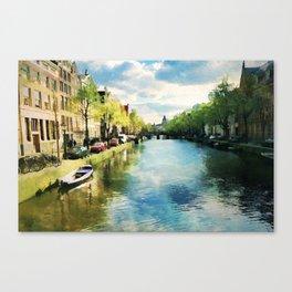 Amsterdam Waterways Canvas Print