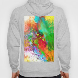 Color Explosion abstract art Hoody