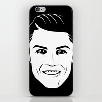 ronaldo iPhone & iPod Skins featuring ronaldo by b & c