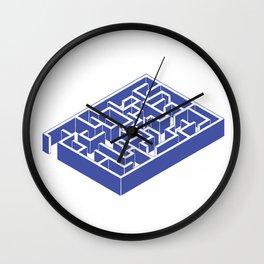 laberynth Wall Clock