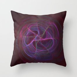 Neon Flavored Magic Beans Throw Pillow