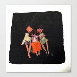 Siblings! Canvas Print
