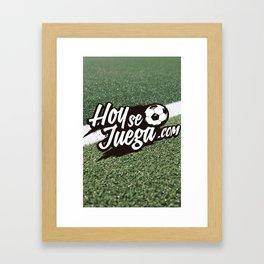 Hoysejuega 2015 Framed Art Print