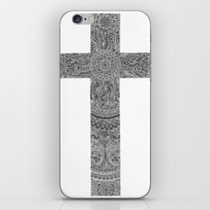 Zen Doodle Cross iPhone & iPod Skin