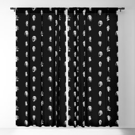 Classical Music Composers Pattern Blackout Curtain