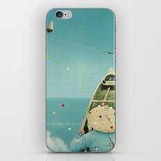 Air Communication iPhone & iPod Skin