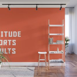 Typography Wall Mural