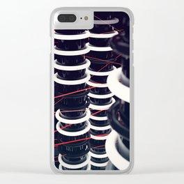 Strobelight Clear iPhone Case
