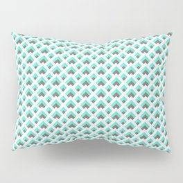Icy rooftops Pillow Sham