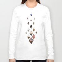 calendars Long Sleeve T-shirts featuring Diamante by Delphine Comte