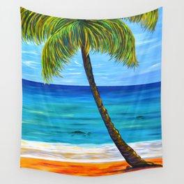 Maui Beach Day Wall Tapestry