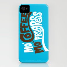 Mo' Coffee Mo' Progress Slim Case iPhone (4, 4s)