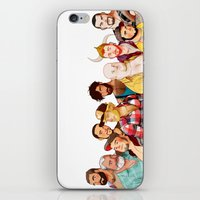 bears iPhone & iPod Skins featuring BearS by Dronio