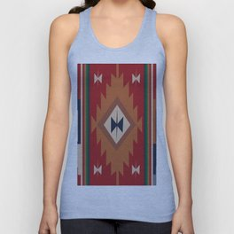 American Native Pattern No. 19 Unisex Tank Top