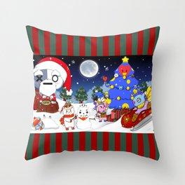 BT21 Christmas! Throw Pillow