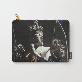 Buddhist Statue in Shadow Carry-All Pouch
