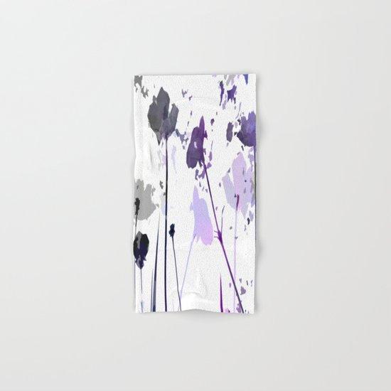 Field of Flowers Indigo Hand & Bath Towel
