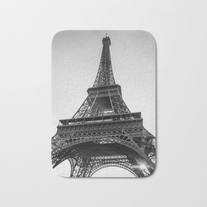 Monochrome Paris Bath Mat