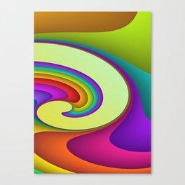 fluid -15- Canvas Print