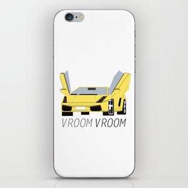 VroomVroom I'm Racin' iPhone Skin