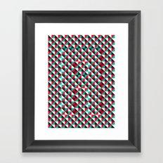 Typoptical Illusion A no.4 Framed Art Print