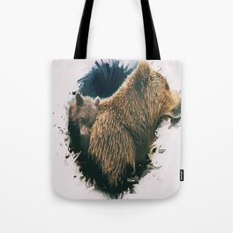 Ursa Minor & Major Tote Bag
