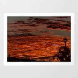 Surplus Sunset Art Print
