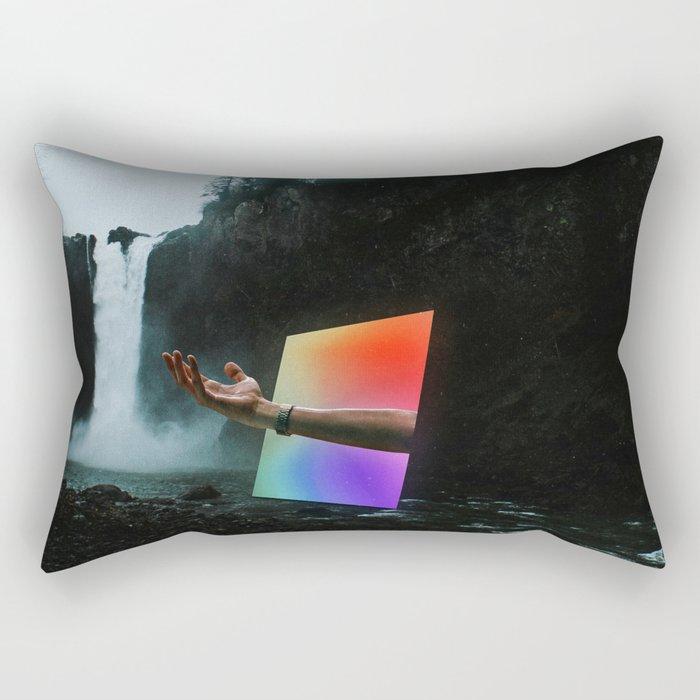 Portal into the Woods Rectangular Pillow